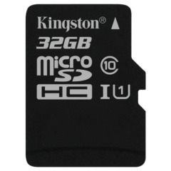 купить Kingston 32 GB microSDHC Class 10 UHS-I + SD Adapter SDC10G2/32GB в Украине