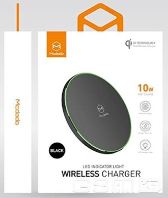 купить McDodo wireless charge black в Украине