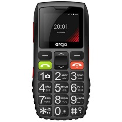 купить ERGO F184 Respect Dual Sim Black  в Украине