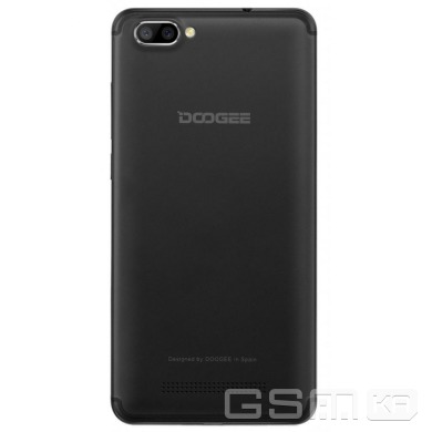 купить Doogee X20 1/16GB Black в Украине