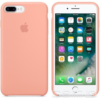 купить Apple iPhone 7/8 Plus Silicone Case - Cocoa в Украине