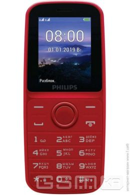 купить Philips  Xenium E109 Red в Украине
