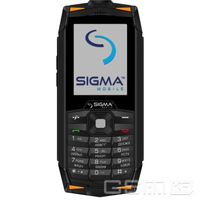 купить Sigma mobile X-treme DR68 Black/orange в Украине