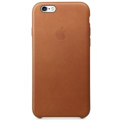 купить Apple iPhone 6 / 6s Leather Case - Saddle Brown в Украине